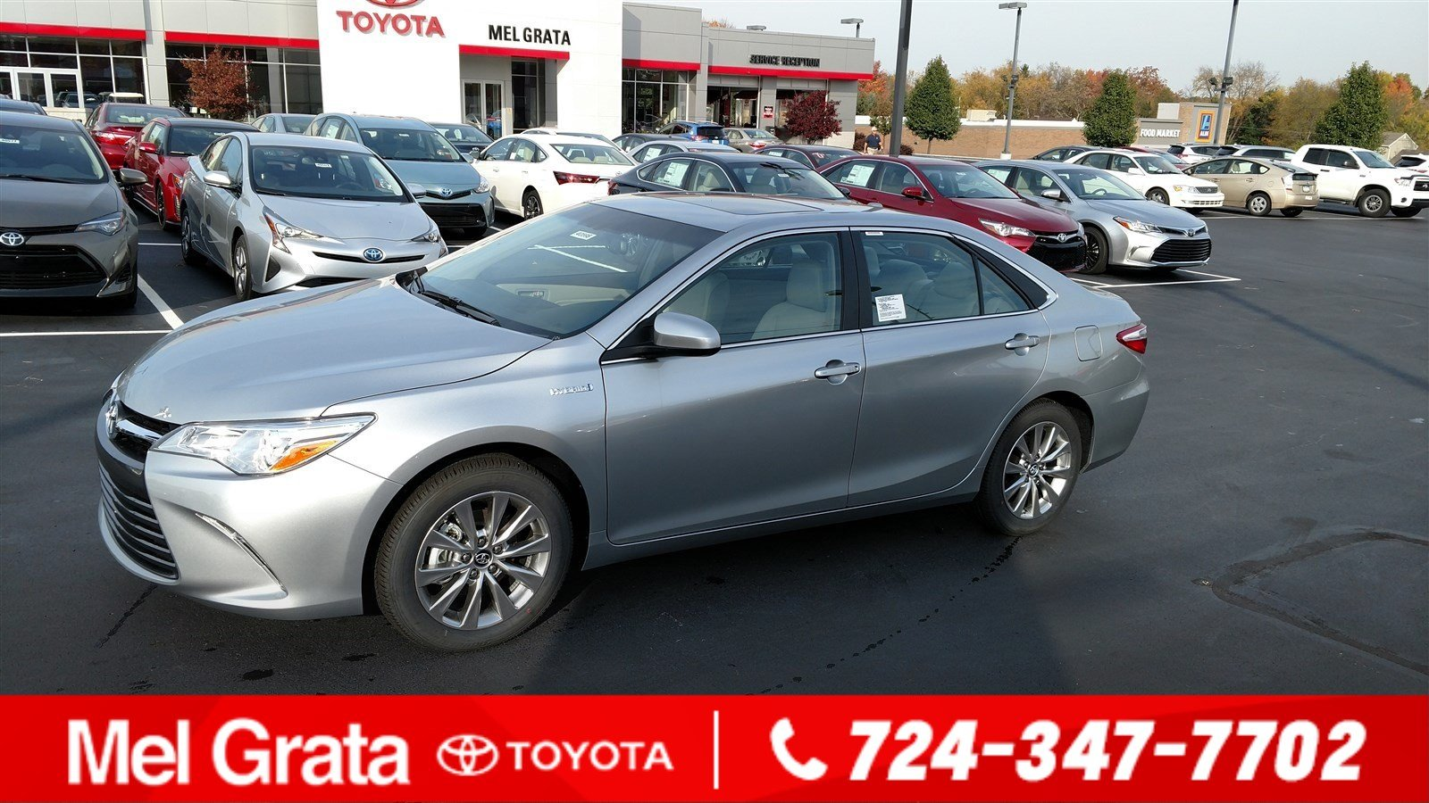 new 2017 toyota camry hybrid xle 4dr car in hermitage 40595 mel grata toyota. Black Bedroom Furniture Sets. Home Design Ideas